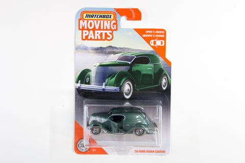 2020 #02 - '36 Ford Sedan Custom (Green)