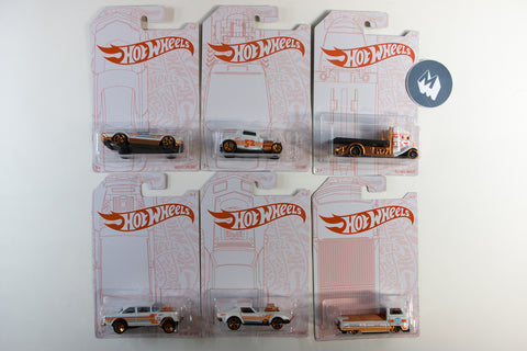 Hot Wheels Pearl & Chrome - Set of 6