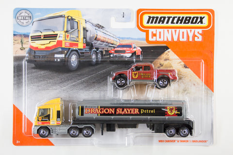 MBX Cabover & Tanker / Badlander (Dragon SLayer Petrol)