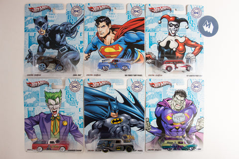 Hot Wheels Pop Culture 2013 DC Comics