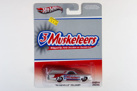 Hot Wheels Pop Culture 2013 Mars - '70 Chevelle Delivery / 3 Musketeers