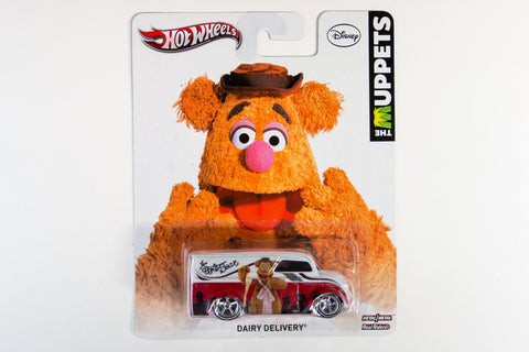 Hot Wheels Pop Culture 2013 The Muppets - Dairy Delivery / Fozzie Bear