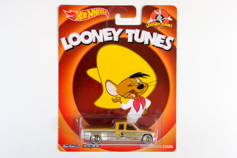 Hot Wheels Pop Culture 2014 Looney Tunes - Customized C3500 / Speedy Gonzales