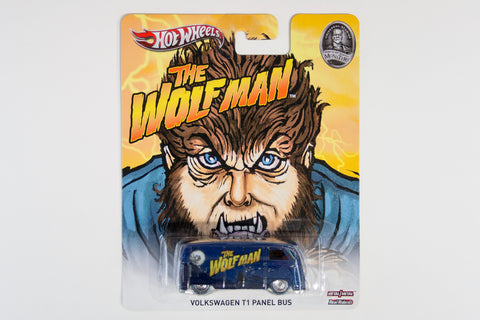 Hot Wheels Pop Culture 2013 Universal Monsters Volkswagen Micro Bus / The Wolfman