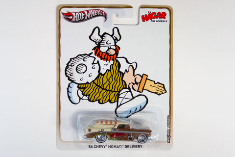 Hot Wheels Pop Culture 2013 King Features Syndicate - '56 Chevy Nomad Delivery / Hagar the Horrible
