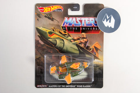Masters of the Universe Wind Raider / He-man