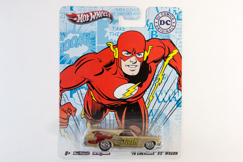 Hot Wheels Pop Culture 2011 DC Comics - '70 Chevelle SS Wagon / The Flash