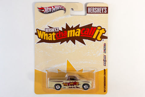 Hot Wheels Pop Culture 2012 Hershey's - '63 Studebaker Champ / Whatchamacallit