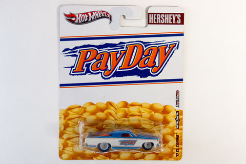 Hot Wheels Pop Culture 2012 Hershey's - '71 El Camino / PayDay