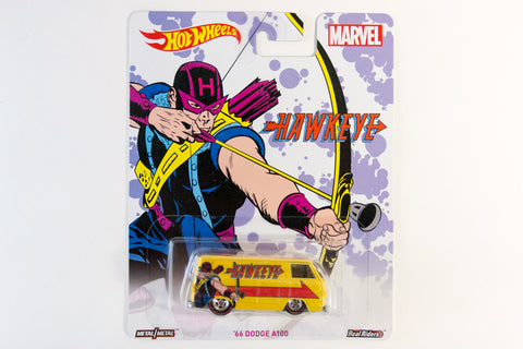 Hot Wheels Pop Culture 2016 Marvel - '66 Dodge A100 / Hawkeye