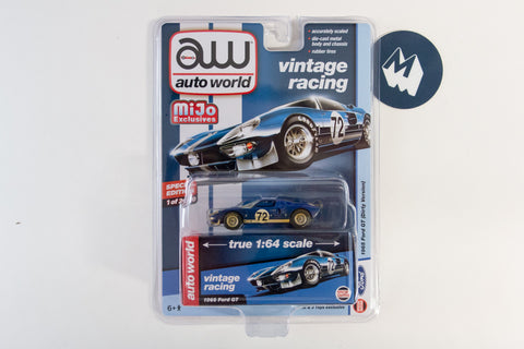 1965 Ford GT 40 - #72 (Dark blue, dirty Version)
