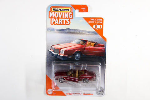2020 #09 - '83 Buick Riviera Convertible (Red)