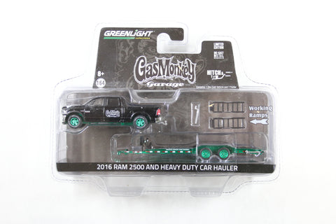 [Green Machine] Gas Monkey Garage / 2016 Ram 2500 and Heavy Duty Car Hauler