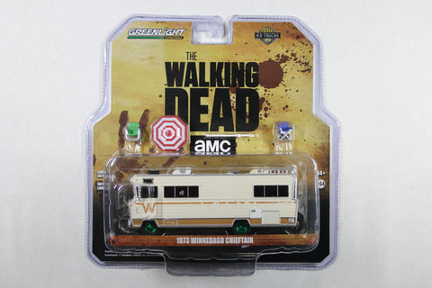 [Green Machine] The Walking Dead / Dale's 1973 Winnebago Chieftain with Umbrella and Camping Chairs