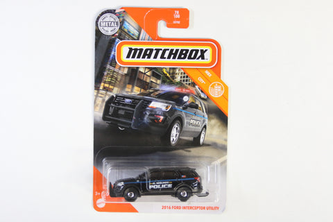 078/100 - 2016 Ford Interceptor Utility
