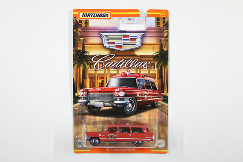 #04 - 1963 Cadillac Ambulance