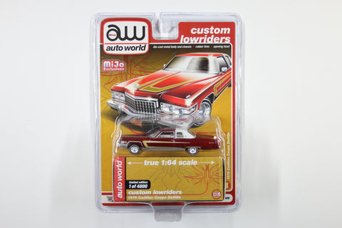 1976 Cadillac Coupe DeVille - Custom Lowriders (Red)