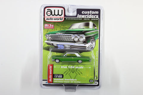 1962 Chevy Impala SS Hardtop - Custom Lowriders (Green)