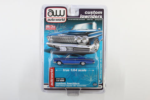 1962 Chevy Impala SS Convertible - Custom Lowriders (Blue)