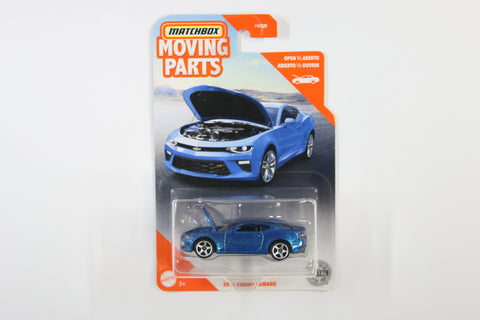 2020 #18 - '16 Chevy Camaro (Blue)