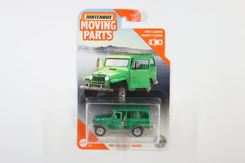 2020 #19 - ´62 Jeep Willys Wagon (Green)