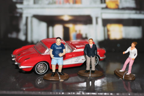 Animal House - 1959 Corvette and 3 Characters