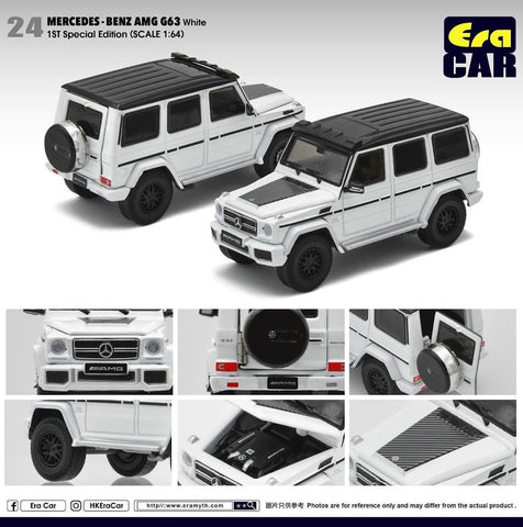 Mercedes-Benz AMG G63 1st Special Edition (White)