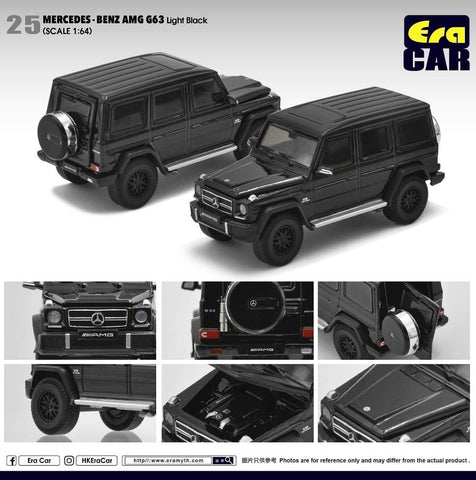 Mercedes-Benz AMG G63 (Light Black)