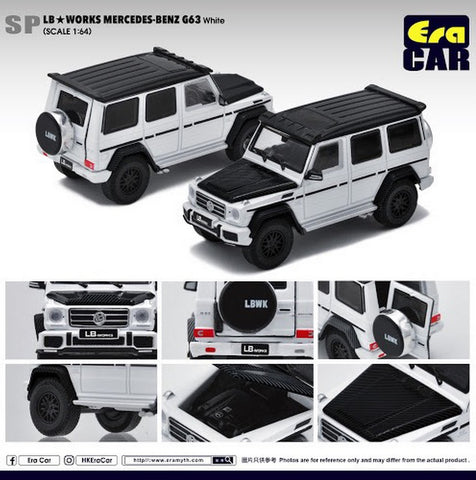 LB Works Mercedes-Benz G63 (White)