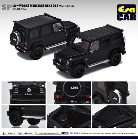 LB Works Mercedes-Benz G63 (Matte Black)