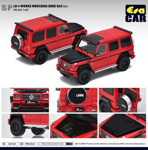 LB Works Mercedes-Benz G63 (Red)