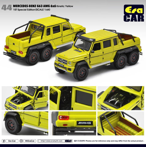 Mercedes-Benz G63 AMG 6x6 Spotlight - 1st Special Edition (Kinetic Yellow)