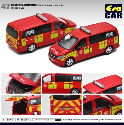 Mercedes Benz Vito (UK Fire Command Vehicle)
