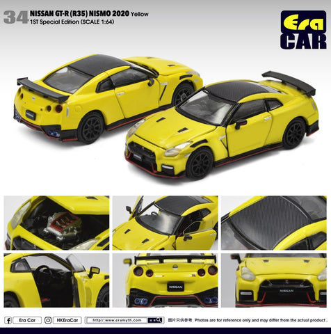 Nissan GT-R (R35) Nismo 2020 1st Special Edition (Yellow)