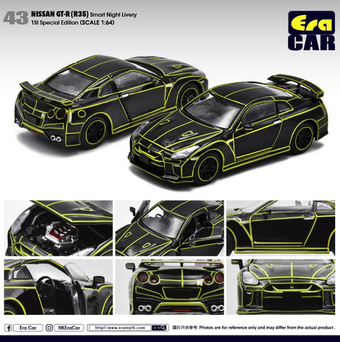 Nissan GT-R (R35) - 1st Special Edition (Smart Night Livery)
