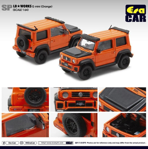 LB★Works Suzuki G Mini (Orange)
