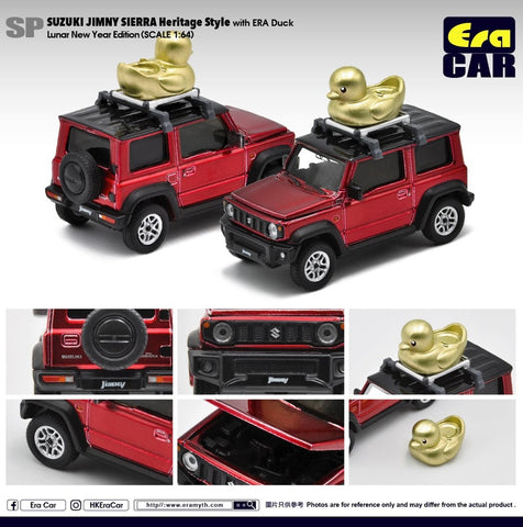 Suzuki Jimny Sierra Heritage Style with ERA Duck - Luner New Year Edition