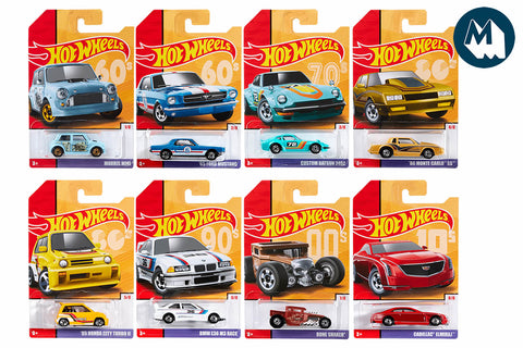 Hot Wheels - Throwbacks Series 1 (2019)