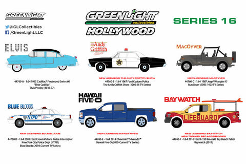 Hollywood Series 16 (Pre-order)
