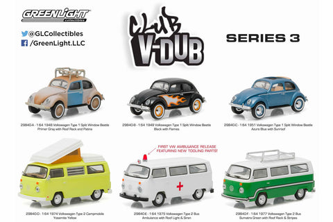 Greenlight Collectibles - Club Vee-Dub Series 3