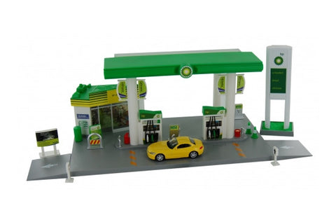 BP Service Station Playset