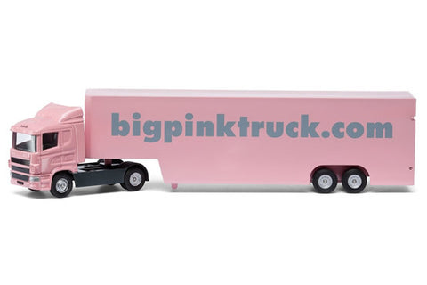 Big Pink Truck 'Isabelle' Box Truck