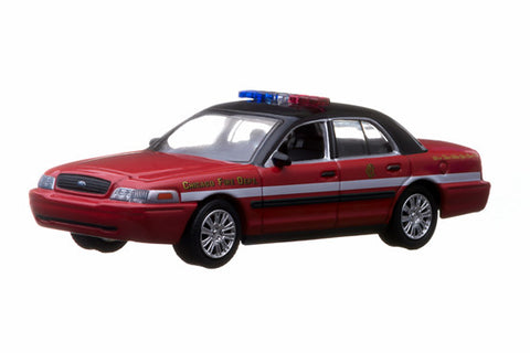 2010 Ford Crown Victoria - Chicago Fire Department