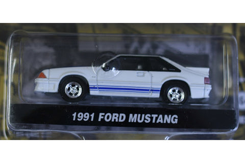 1991 Ford Mustang 5.0 w/ Racing Stripes