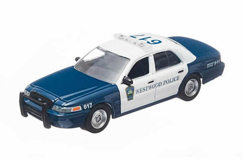 2008 Ford Crown Victoria Police Interceptor - Westwood, Massachusetts Police
