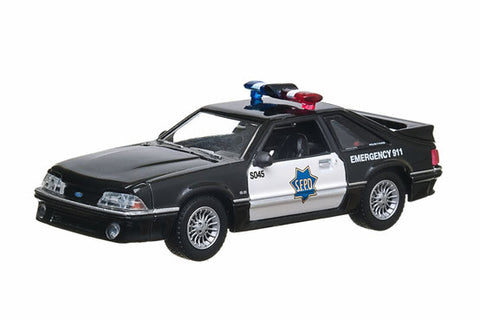 1993 Ford Mustang - San Francisco Police Dept