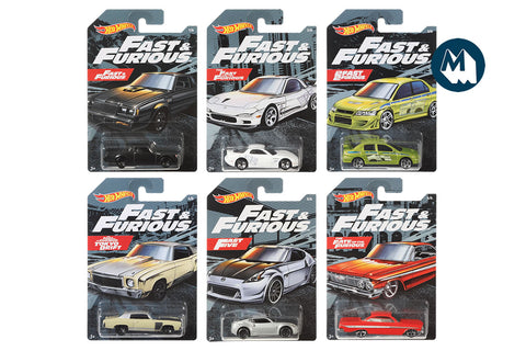 Hot Wheels - Fast & Furious 2019