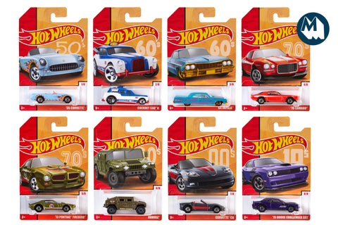 Hot Wheels - Throwbacks Series 2 (2019)