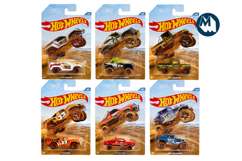 Hot Wheels - Off Road Trucks