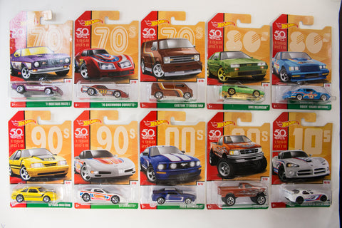 Hot Wheels - Throwback Series (50th Anniversary)
